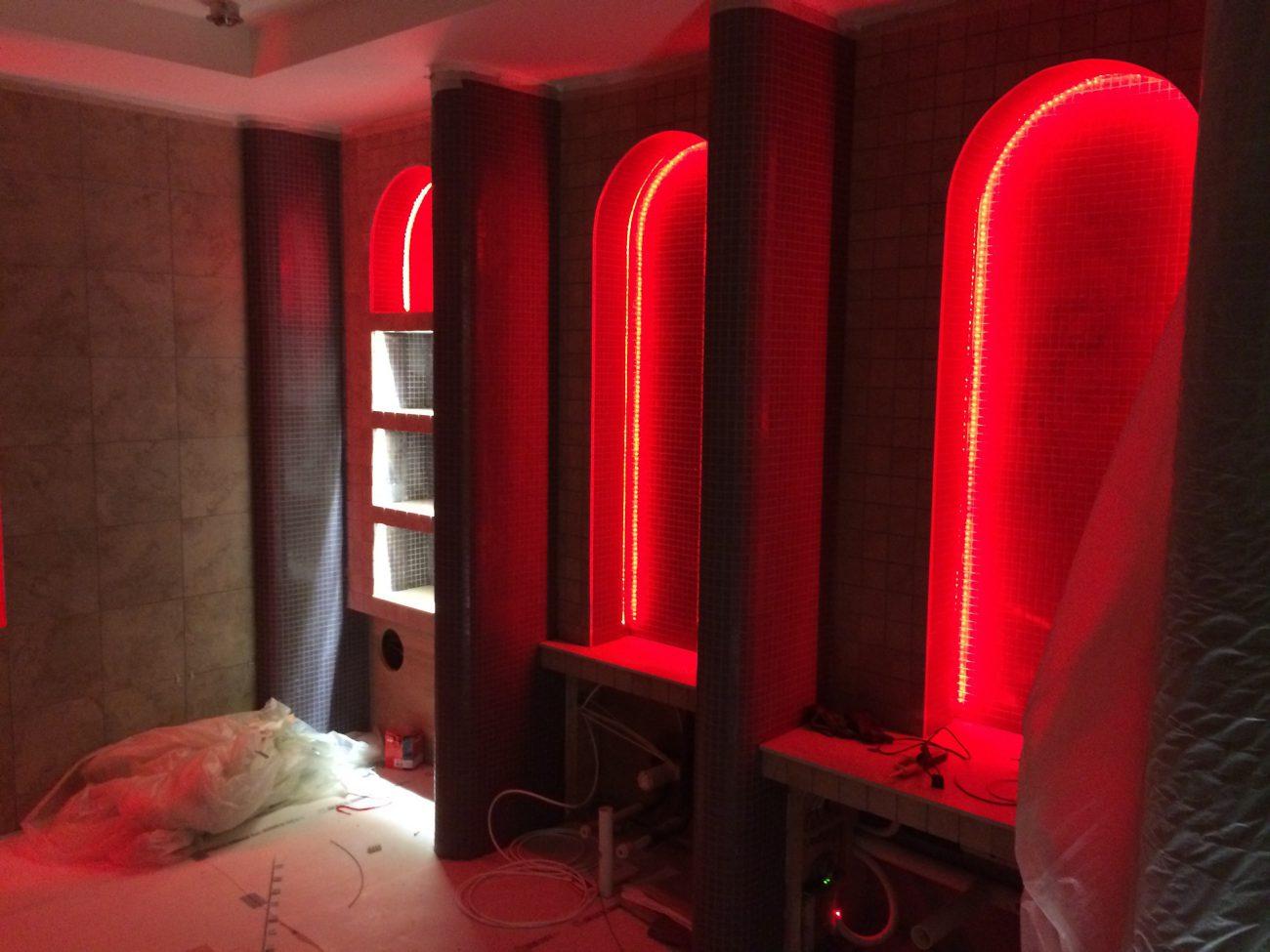 Spa Bathroom – Lighting Design