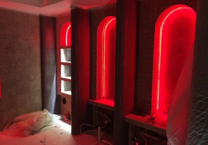 Spa Bathroom – Lighting Design