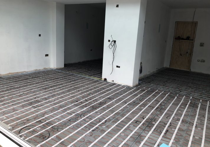 Electric Under floor Heating Projects